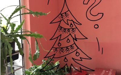 Wenn der Weihnachtsbaum eine Lücke hinterlässt